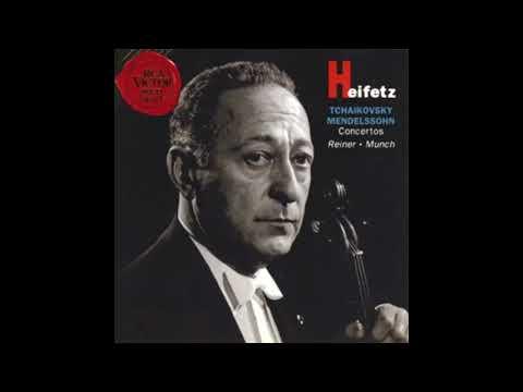 TCHAIKOVSKY: Violin Concerto in D major op. 35 / Heifetz · Reiner · Chicago Symphony Orchestra