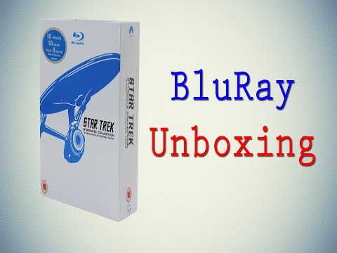 Unboxing Star Trek Stardate Collection - The Movies 1-10 [Blu-ray] from YouTube · Duration:  7 minutes 49 seconds