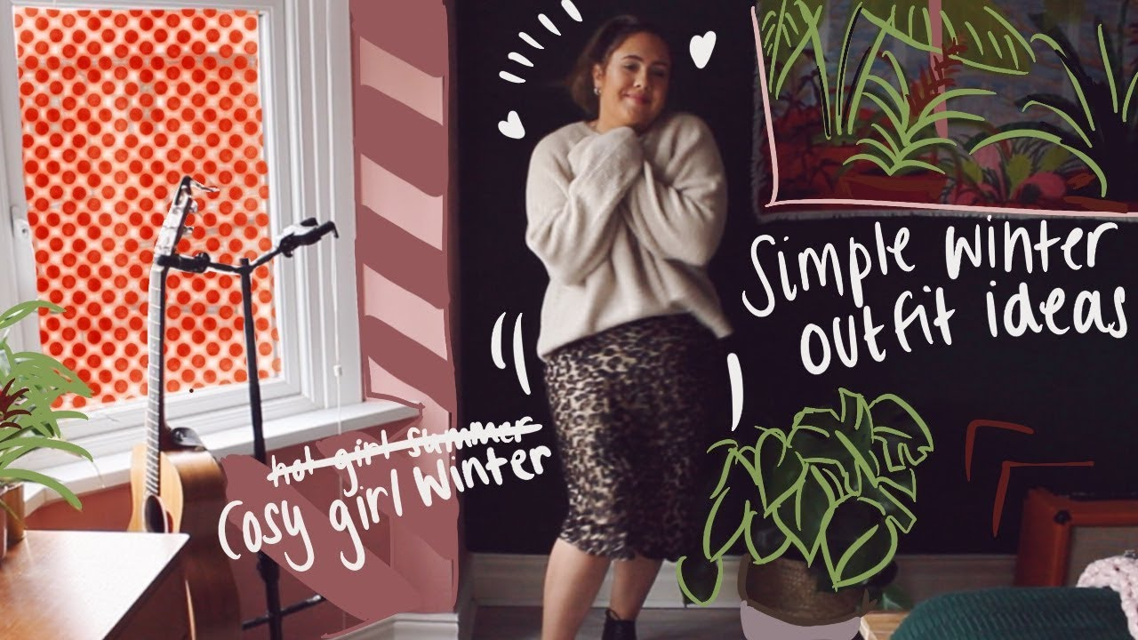 [VIDEO] - simple cosy girl winter outfit ideas | lookbook 9