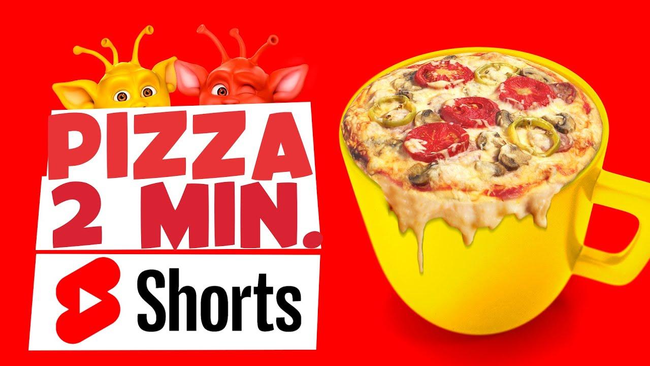 Haz una pizza en 2 minutos con Bily y Maik #Shorts