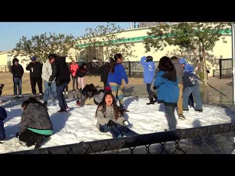 A Snow Day at Blackwater Community School-5th Grade