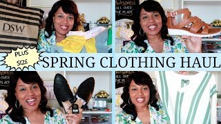 SPRING CLOTHING HAUL * TARGET* WALMART*RAINBOW*DSW &MORE
