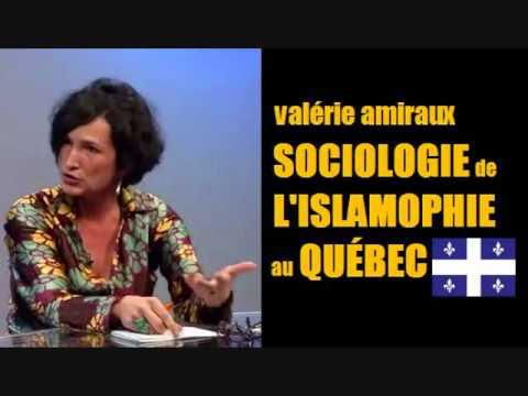 Sociologie de l'islamophobie au Québec - Valérie Amiraux (mars 2013)