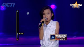 """Dewi Kisworo """"One More Night"""" Maroon 5 - Rising Star Indonesia Duels 2 - Eps. 10"""