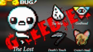 """TBoI: Afterbirth+ """"The Lost VS GREEDIER"""" [Ep.03]"""