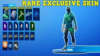 THIS ACCOUNT HAS A VERY RARE EXCLUSIVE SKIN! (Fortnite Stacked Account!)