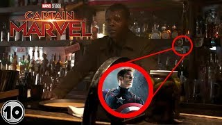 Top 10 Easter Eggs You Missed In Captain Marvel Trailer 3