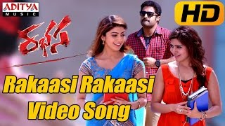 Rakaasi Rakaasi Full Video Song - Rabhasa Video Songs - Jr Ntr, Samantha, Pranitha