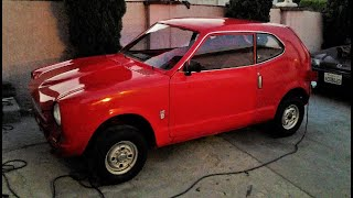 Conversion de Vehiculo electrico Honda Coupe 600 1972 Electric Vehicle