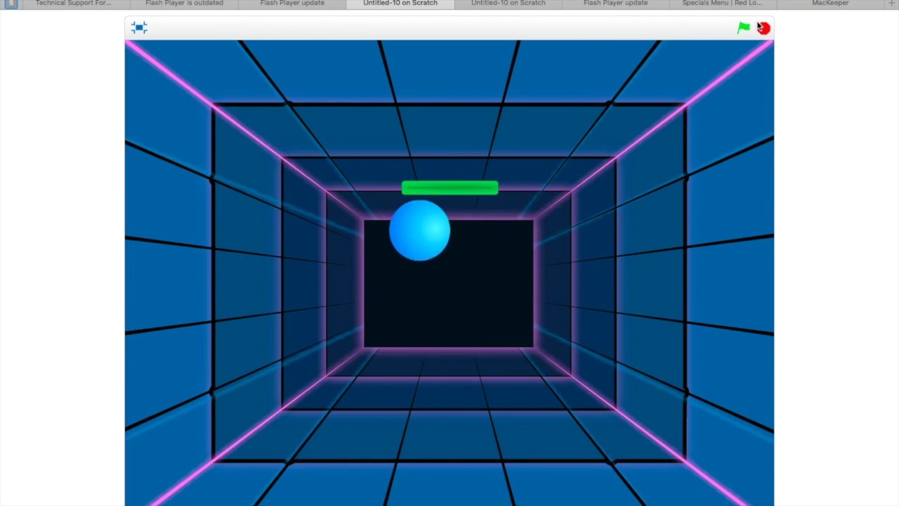 Bouncing Ball Game-Scratch-Tutorial - YouTube