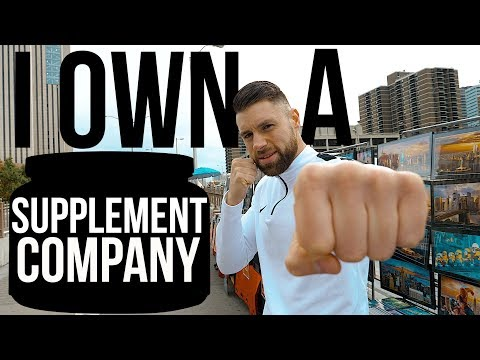 I Own A Supplement Company | My New Business | New York Vlog