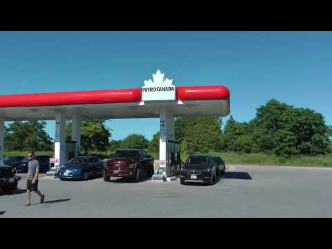 Petro Canada Gas Station In Cobourg, Ontario, Canada July 6, 2018