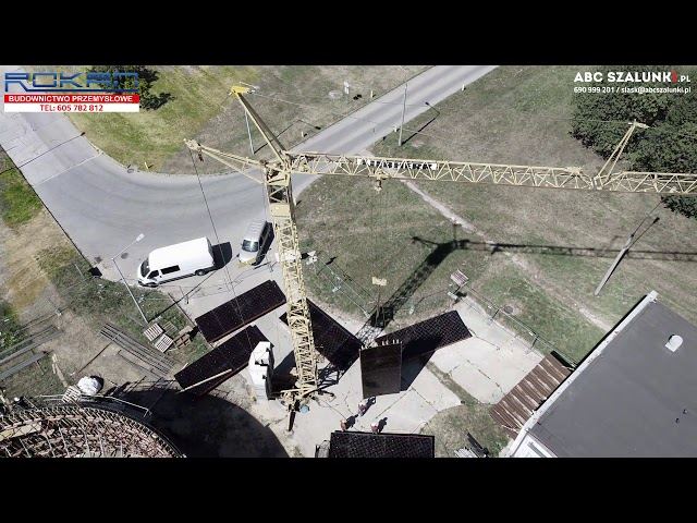 Budowa zbiornika buforowego (szalunki okrągłe) | Przysucha | #ABCSzalunki #Rokan #Hortex