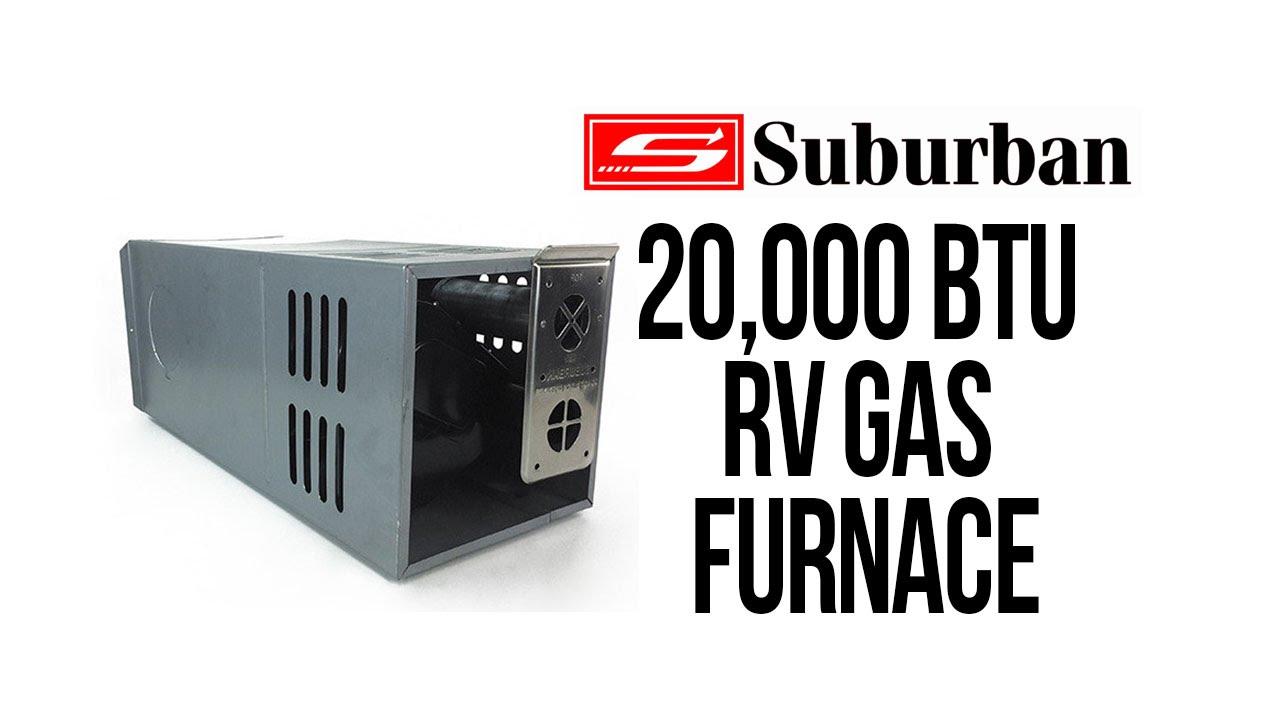 Suburban 20 000 btu gas furnace nt 20seq youtube for Suburban furnace blower motor replacement