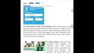 Lowongan Kerja Walk In Interview PT. CITILINK Indonesia November 2016