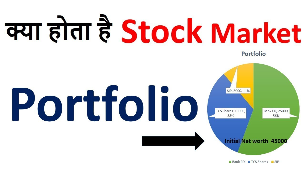 What is Portfolio in Stock Market Hindi | Share market portfolio | Stock  market Basics | - YouTube