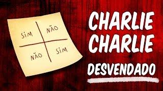 DESAFIO CHARLIE CHARLIE: mistério desvendado
