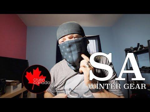 SA Co. Winter Gear | Fleece Face Shields and Beanie