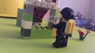 Lego Watermelon selling fruit