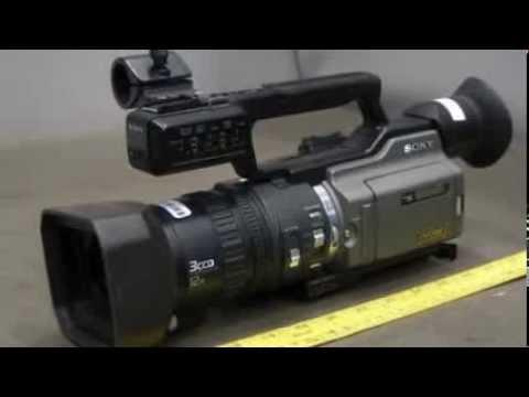 Sony DVCAM 3CCD 12X Video Camera on GovLiquidation.com