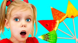 Learn Colors with Fruits Song | Nursery Rhymes & Kids Songs
