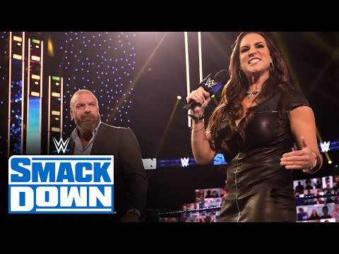 Triple H and Stephanie McMahon's introduction leads to blue brand brawl: SmackDown, Oct. 16, 2020