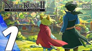 Ni No Kuni 2 Revenant Kingdom - Gameplay Walkthrough Part 1 - Prologue (Full Game) PS4 PRO