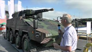 Eurosatory 2014 Rheinmetall Boxer Infantry Armoured Vehicle - Christopher Foss