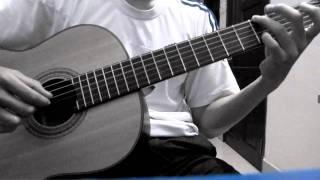 Đêm nằm mơ phố - Guitar classic