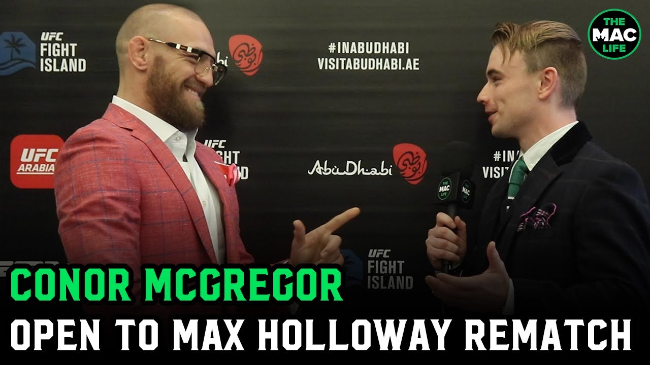 "Conor McGregor on Max Holloway: ""He's definitely in the pipeline for a bout against me"" - download from YouTube for free"