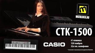 Синтезатор CASIO CTK-1500, обзор, звук и функции