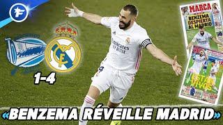Le sauveur Karim Benzema sort le Real Madrid de la crise | Revue de presse