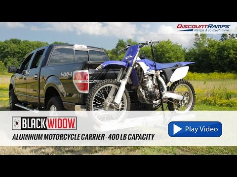 Aluminum Motorcycle Carrier - 400 lb Capacity