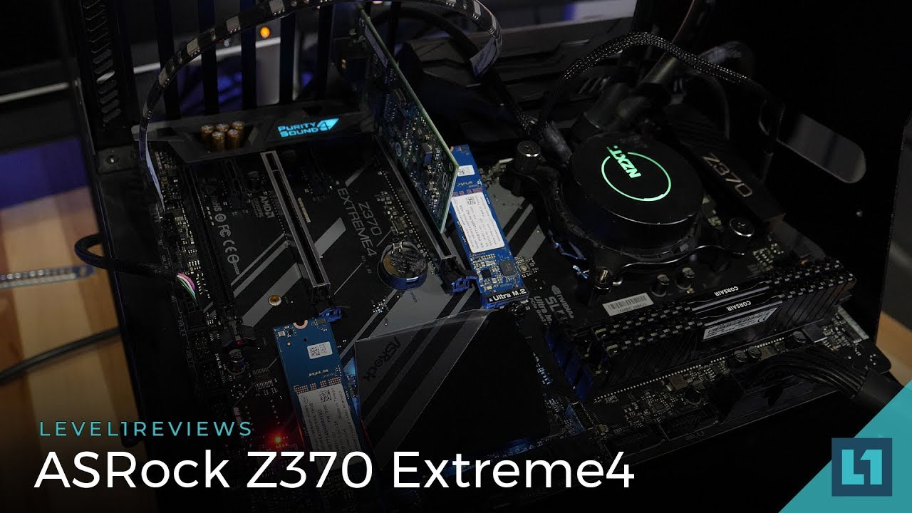 ASRock Z370 Extreme4 Motherboard Review + Linux Test