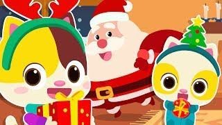 Download Lagu We Wish You A Merry Christmas | Santa Claus | Christmas Songs | Nursery Rhymes |  Kids Songs|BabyBus mp3
