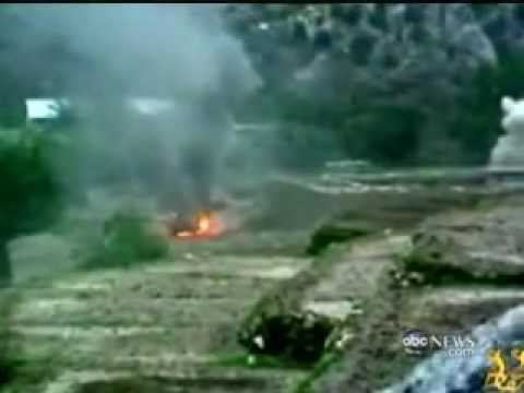 Taliban Mujahideen attack and capture American Base in Nuristan Province ABCNEWS.flv