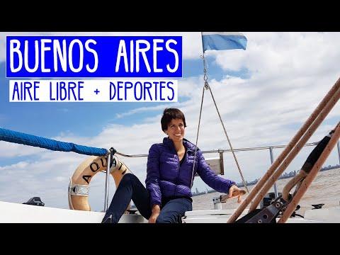 Qué hacer en Buenos Aires: aire libre y deportes