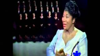 MAHALIA JACKSON:  America  (My Country 'Tis of Thee) with The Norman Luboff Choir