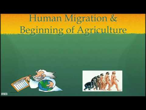 The Earliest Humans - Human Migrations and Beginning of Agriculture Part 1 (2016)