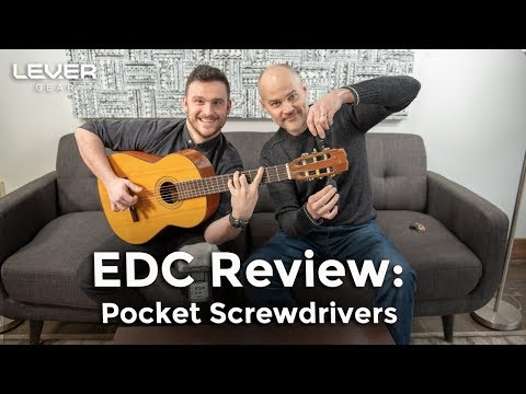 Keychain Screwdrivers | Gear Up! (Ep.7) | EDC Gear Review | BitVault vs BitBar