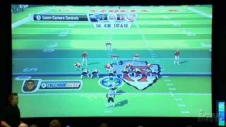 Madden NFL 09 All-Play Nintendo Wii Gameplay - Controls