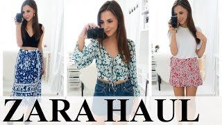 ZARA HAUL & TRY ON! Spring Summer 2017