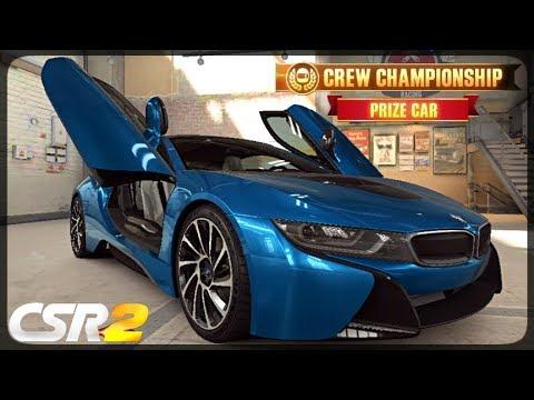 CSR Racing 2 - BMW i8 delivery  - Milestone prize