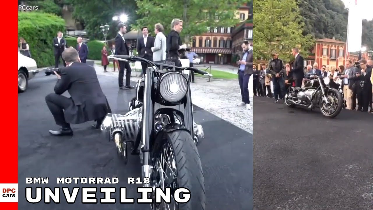 Bmw Motorrad Concept R18 Motorcycle Unveiling