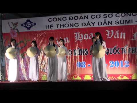Văn Nghệ Sumi- Múa nón Thương Quá Việt Nam- Nhóm Assy4