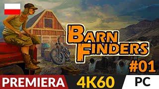 Barn Finders PL 🏠 #1 (odc.1) 🚚 Złomiarze i wojny magazynowe   Gameplay po polsku