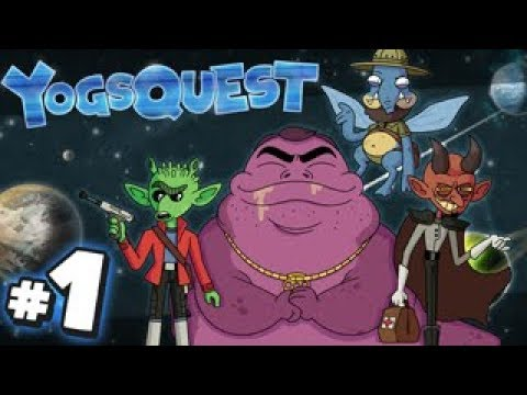 YogsQuest 6 - A Star Wars Story #1 | The Adventure Begins!