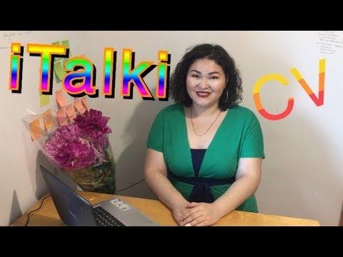 🔴Video CV for teachers on Italki/How to make video for tutors.