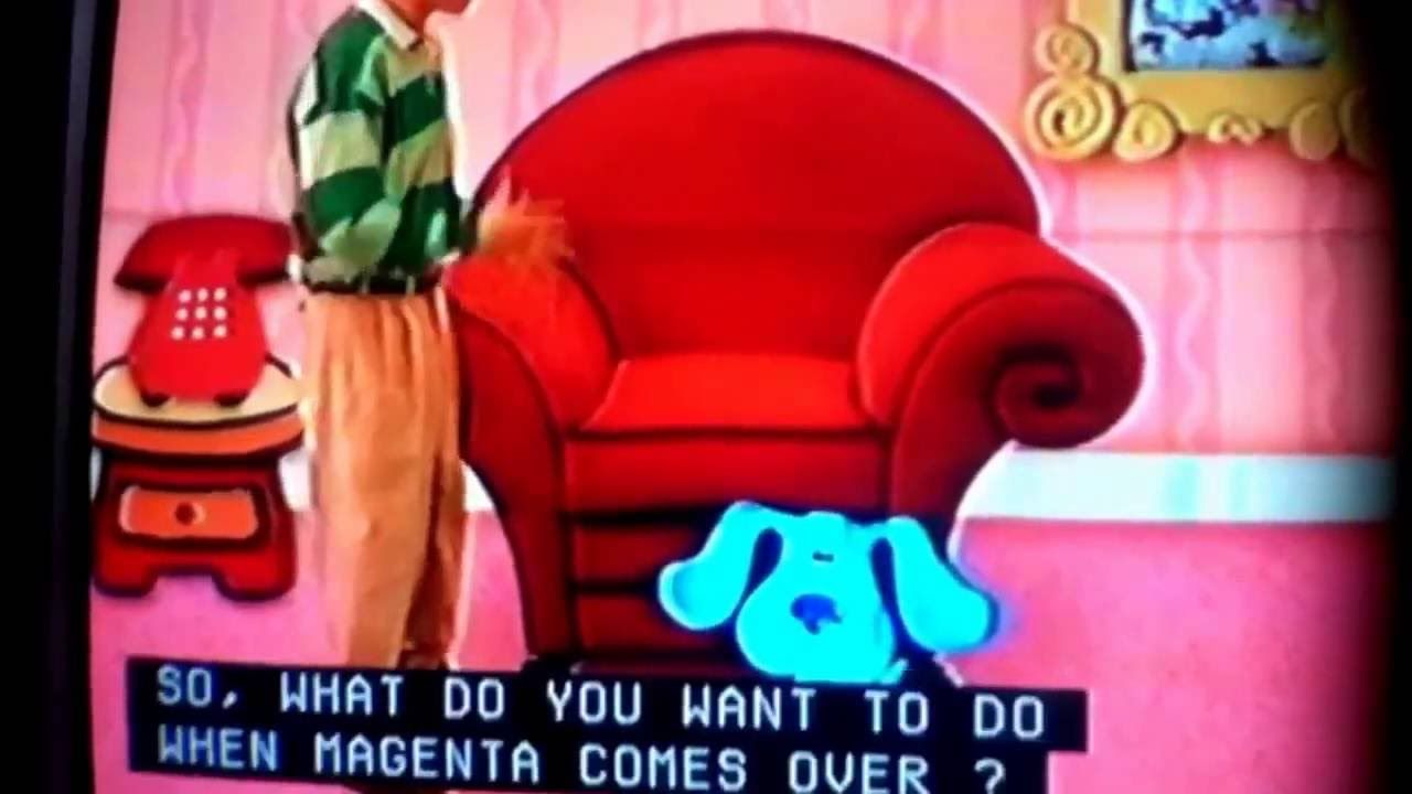 Blues Clues Magentas Coming Over Youtube