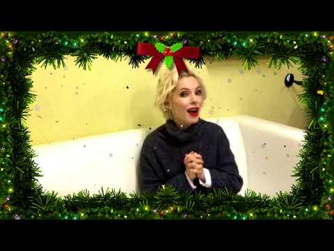Поздравление зрителей телеканала TVMChannel от Ангелины Сергеевой